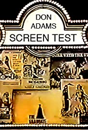 Don Adams' Screen Test Poster