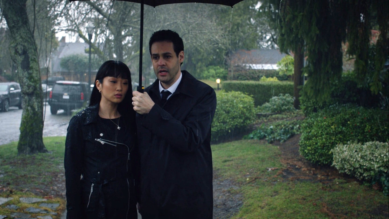Andrew Leeds and Alice Lee in Zoey's Extraordinary Playlist (2020)