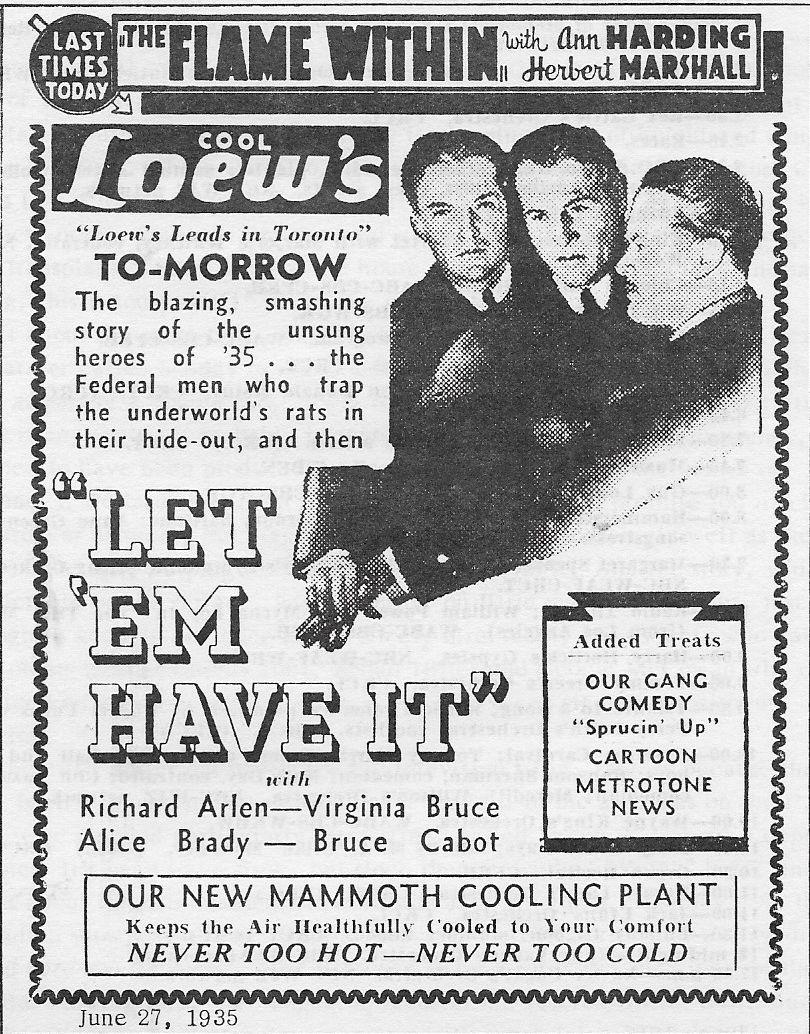 Richard Arlen, Eric Linden, and Paul Stanton in Let 'em Have It (1935)