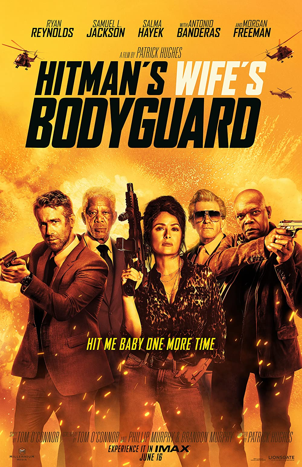 Download The Hitman's Wife's Bodyguard 2021 English 720p HDCAM 760MB