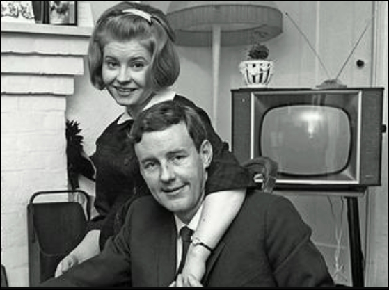 Richard Briers and Prunella Scales in The Marriage Lines (1961)