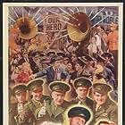 Eddie Bracken, James Damore, William Demarest, Jimmie Dundee, Bill Edwards, Ella Raines, and Freddie Steele in Hail the Conquering Hero (1944)