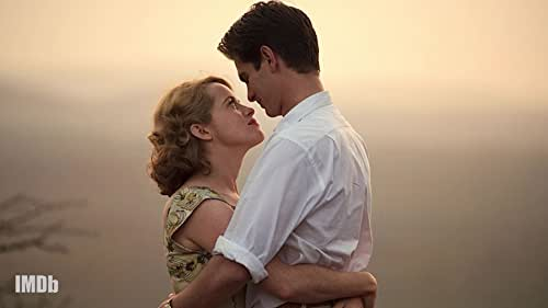 Andrew Garfield on His On-Screen Intimacy With Claire Foy in 'Breathe'