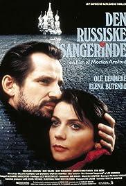 Den russiske sangerinde Poster