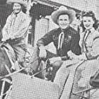 Buster Crabbe, Lois Ranson, and Al St. John in The Renegade (1943)