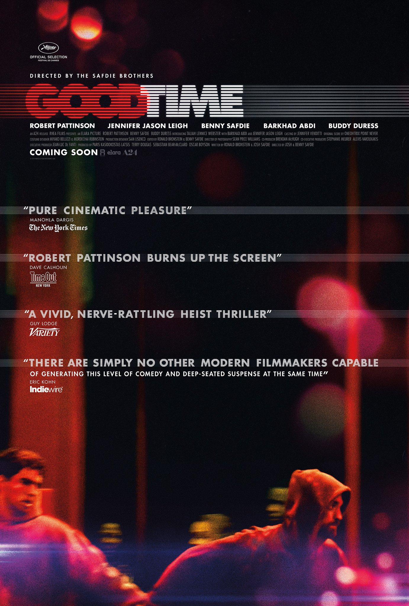Good Time (2017)BluRay 480p & 720p