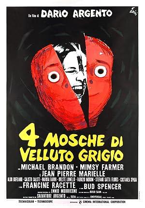 دانلود زیرنویس فارسی فیلم Four Flies on Grey Velvet 1971