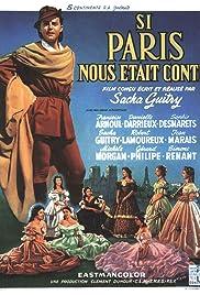 Si Paris nous était conté Poster