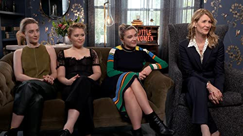 Why the 'Little Women' Cast Is So in Love With Florence Pugh video
