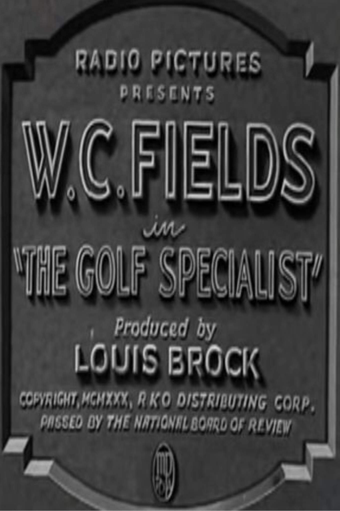 The Golf Specialist (1930)