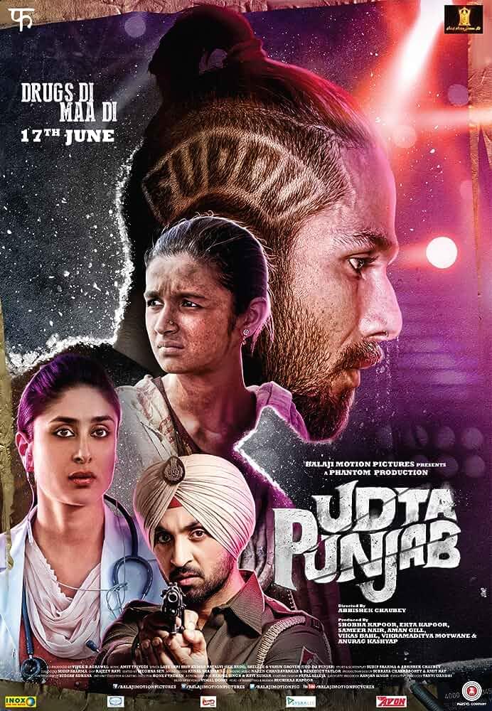Udta Punjab   2016   Hindi   1080p   720p  