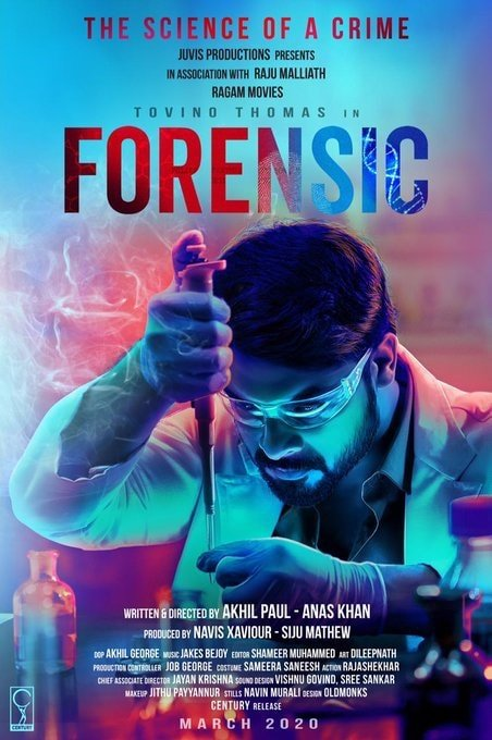Forensic (2020) UNCUT Dual Audio Hindi ORG 720p HDRip x264 AAC 937MB ESub