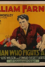 The Man Who Fights Alone Poster