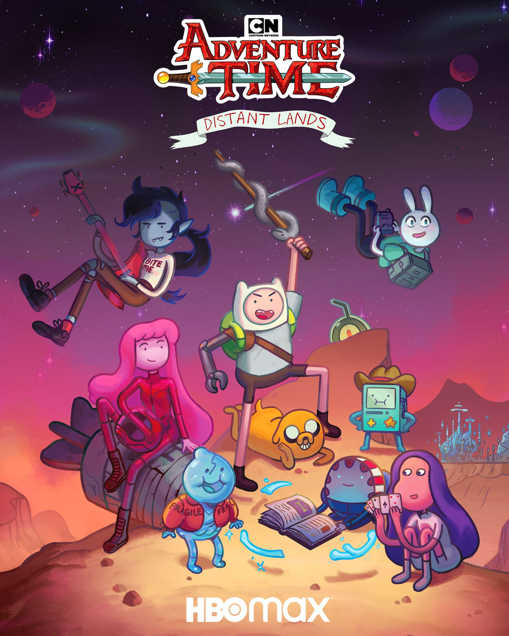 Adventure Time Distant Lands Tv Mini Series 2020 Imdb