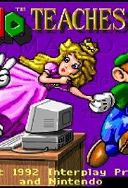Mario Teaches Typing Poster