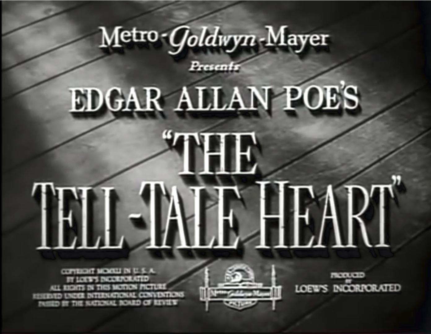 The Tell-Tale Heart (1941)
