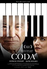 Patrick Stewart and Katie Holmes in Coda (2019)