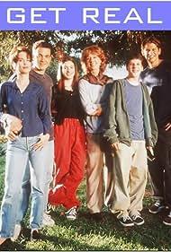 Debrah Farentino, Anne Hathaway, Jesse Eisenberg, Eric Christian Olsen, Christina Pickles, and Jon Tenney in Get Real (1999)