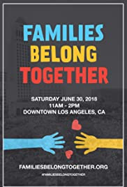 Families Belong Together: Los Angeles Poster