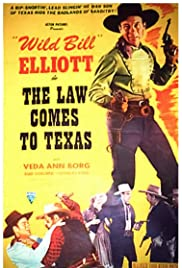 The Law Comes to Texas Poster