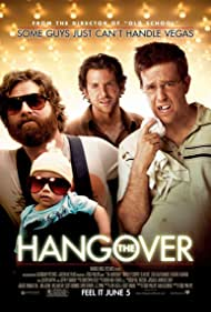 Bradley Cooper, Zach Galifianakis, and Ed Helms in The Hangover (2009)