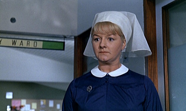 Joan Sims in Doctor in Clover (1966)