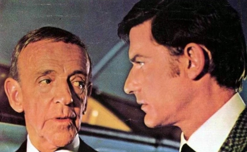 Fred Astaire and Roddy McDowall in Midas Run (1969)
