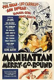 Leo Carrillo, Ann Dvorak, and Phil Regan in Manhattan Merry-Go-Round (1937)