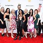 Richard Riehle, Susan Rudick, Jane Kelly Kosek, Amir Arison, Leena Pendharkar, Sabrina Hill, Sujata Day, Jocelin Donahue, Zakary Risinger, and Olga Aguilar at an event for 20 Weeks (2017)