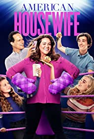 Diedrich Bader, Katy Mixon, Daniel DiMaggio, Meg Donnelly, and Giselle Eisenberg in American Housewife (2016)