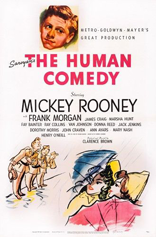 Mickey Rooney in The Human Comedy (1943)