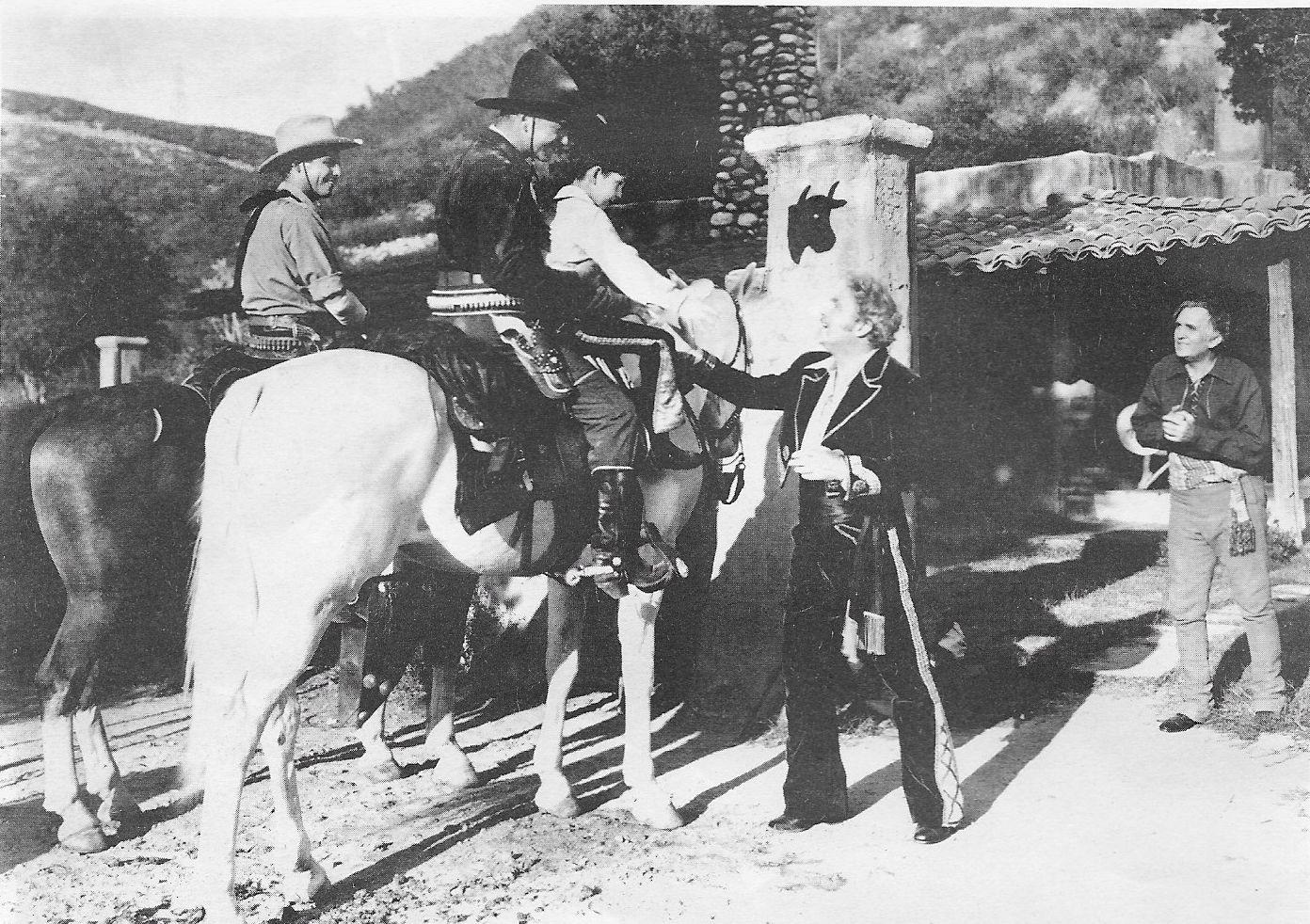 William Boyd, James Ellison, William Farnum, George Mari, and Juan Torena in The Eagle's Brood (1935)