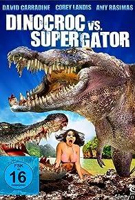 Primary photo for Dinocroc vs. Supergator