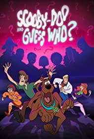 Matthew Lillard, Grey Griffin, Frank Welker, and Kate Micucci in Scooby-Doo and Guess Who? (2019)