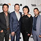 Deborra-Lee Furness, Hugh Jackman, Josh Victor Rothstein, and Jesse Scolaro at an event for Dukale's Dream (2014)