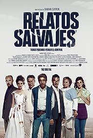 Rita Cortese, Ricardo Darín, Darío Grandinetti, Oscar Martínez, María Marull, Erica Rivas, Leonardo Sbaraglia, and Julieta Zylberberg in Relatos salvajes (2014)