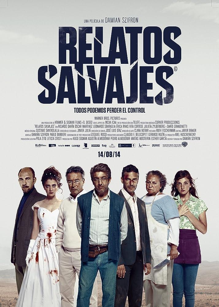 Rita Cortese, Ricardo Darín, Darío Grandinetti, María Marull, Erica Rivas, Leonardo Sbaraglia, and Julieta Zylberberg in Relatos salvajes (2014)