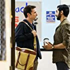 Noah Wyle and Vinny Chhibber in The Red Line on CBS