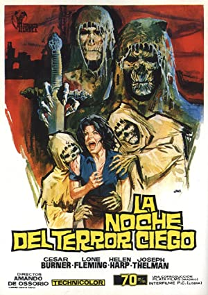 Tombs of the Blind Dead Pelicula Poster