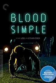 Frances McDormand on Blood Simple Poster