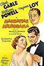 Manhattan Melodrama (1934) Poster