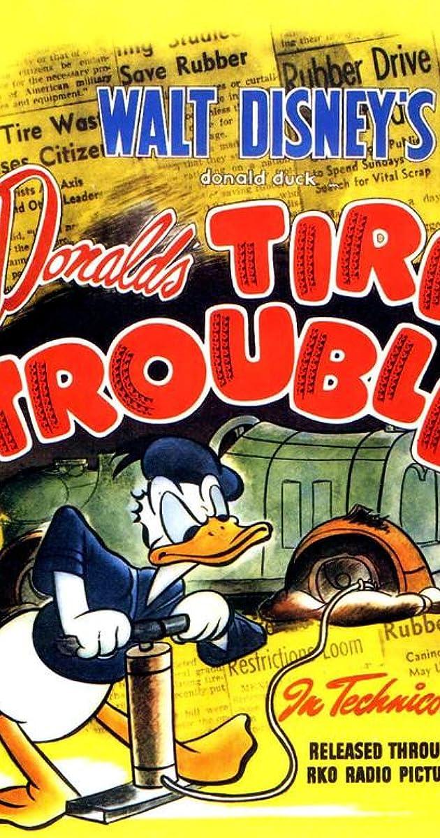 Donald's Tire Trouble (1943)