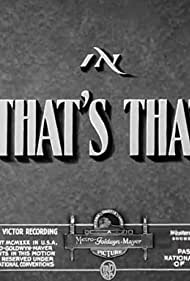 That's That! (1938)