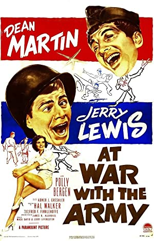 Movie At War with the Army (1950)