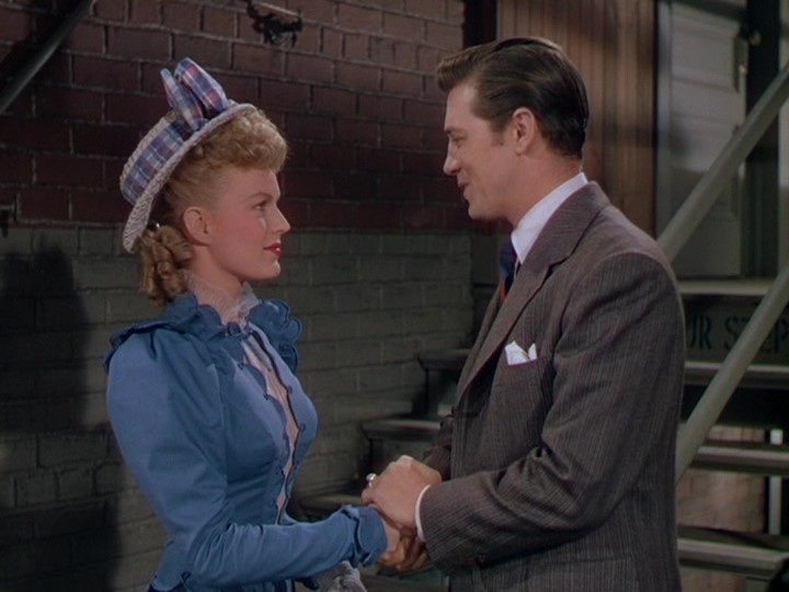 June Haver and Gordon MacRae in The Daughter of Rosie O'Grady (1950)