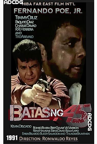 Watch Batas ng .45 (1991)