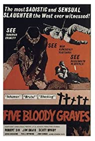 Five Bloody Graves (1970) Poster - Movie Forum, Cast, Reviews