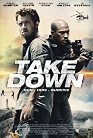 Jeremy Sumpter and Ashley Walters in Take Down (2016)