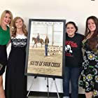 Brittney Greer, Debbie Sutcliffe, Meggie Jenny, and Gina Tichelkamp at an event for South of Swan Creek (2017)