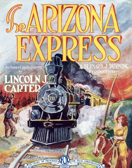 Evelyn Brent, Tom Buckingham, Lincoln J. Carter, Otto Hoffman, and Pauline Starke in The Arizona Express (1924)